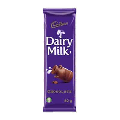 Cadbury 80g Slab Dairy Milk