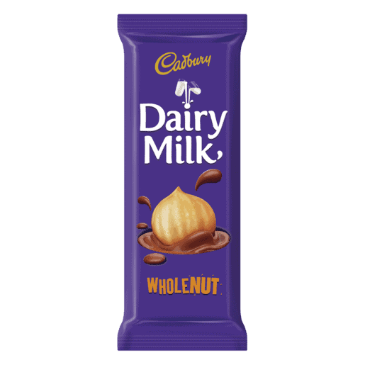 Cadbury 80g Slab Wholenut
