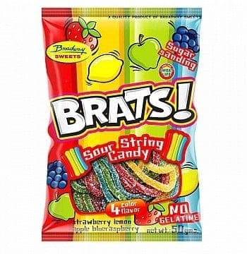 Brats 50g Sour Strings