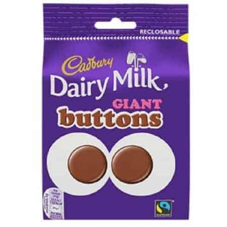 Cadbury 119g Giant Buttons Pouch