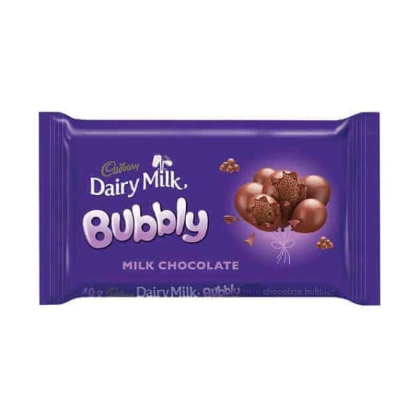 Cadbury 40g Bubbly Dairy Milk