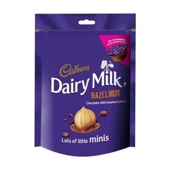 Cadbury 204g Mini Hazelnut Bag