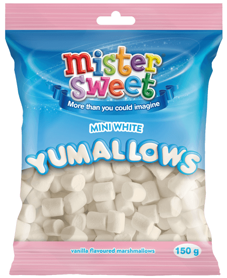 Mister Sweets 150g Mini Mallows
